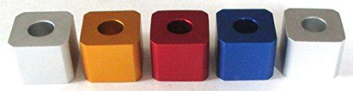 Zigarette Dochtschere sofort Zigarette Löscher Aluminium Serie SET von 5
