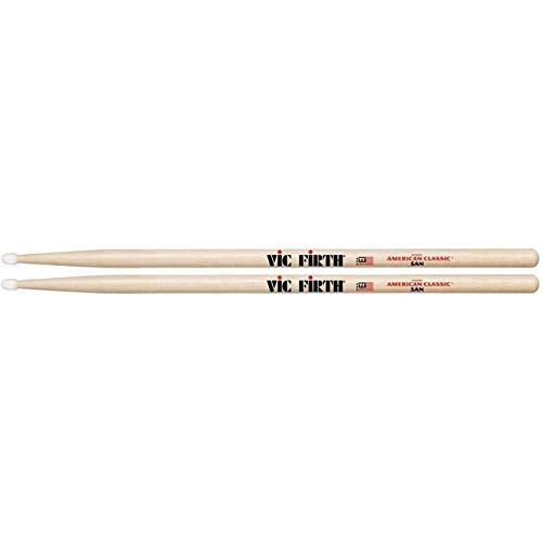 Vic Firth American Classic Series Drumsticks - 5AN - American Hickory - Nylon Tip