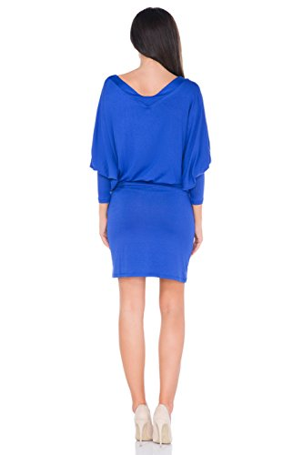 FUTURO FASHION - Robe - Tunique - Femme Bleu Marine