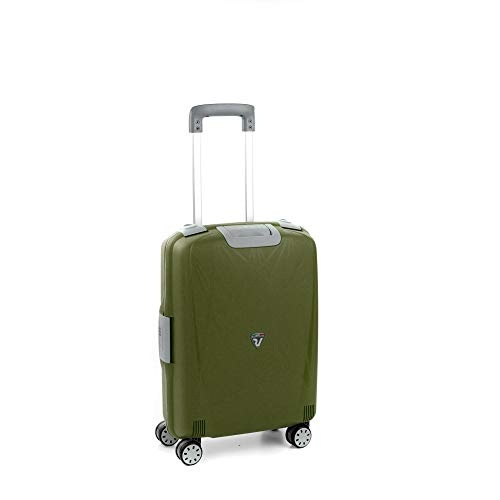 Roncato Trolley Cabina 4r Light Valigia, 55 cm, 41 liters, Verde
