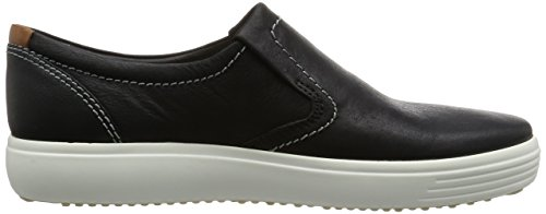 Ecco Herren Soft 7 Men's Low-Top Schwarz (2001black)