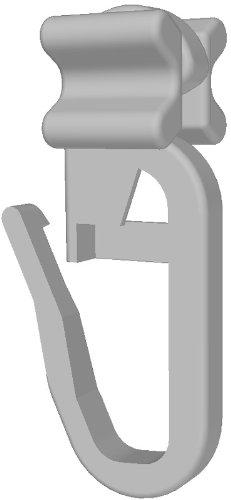 Gardineum Faltengleiter/X-Gleiter für Gardinenschienen 100 Stück