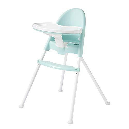 Baby-Zusatzsitz Hochstuhl Fütterung Kleinkind Kind Kinder Infant Recliner Verstellbarer Sitz Baby Faltbar Speisestuhl-Fütterungsstuhl-Mädchen-Junge (Farbe : Blau, Größe : 60 * 60 * 85cm) (Kleinkind-mädchen-recliner-stuhl)