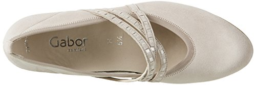 Gabor Shoes Comfort, Scarpe con Tacco Donna Beige (light nude 38)