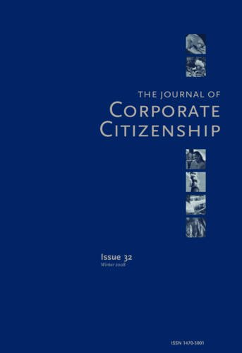 Corporate Citizenship in Latin America: New Challenges for Business (The Journal of Corporate Citizenship)