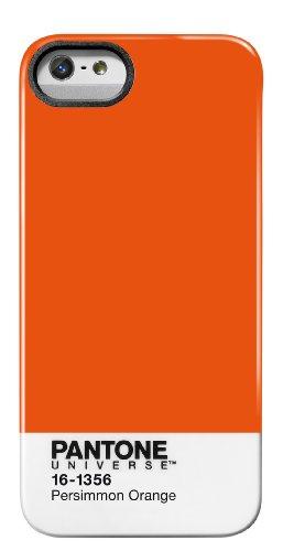 Case Scenario PA-IP4-418C Pantone Universe Coque pour iPhone 4/4S - Gris 418 Persimmon Orange