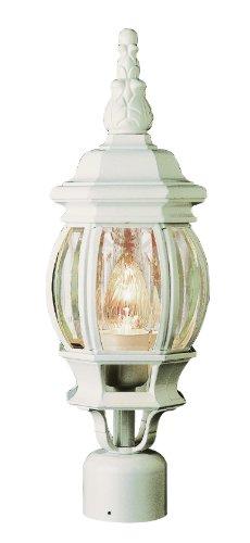 TRANS Globe Lighting 4060WH Outdoor 1Licht weiß Outdoor Post -