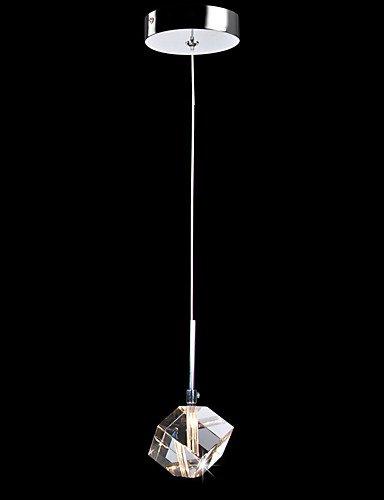 1 Köpfe moderner, minimalistischer Kristallanhänger deckenleuchten hängeleuchten Küche,Esszimmer,Bars, Lampe 115V #359 -