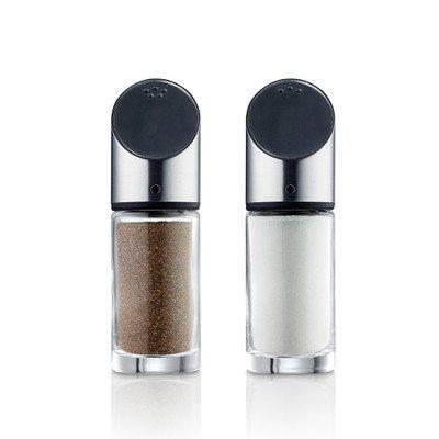 Blomus 63581 Salz- und Pfefferstreuer LIVO Edelstahl/Glas