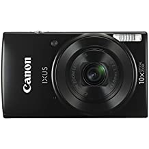 Canon IXUS 180 Compact Camera with 2.7 inch LCD Screen - Black
