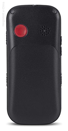 swisstone BBM 320c – GSM-Mobiltelefon mit großem beleuchtetem Farbdisplay, schwarz - 3