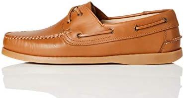 Amazon Brand - find. Amz038_leather, Men's Deck Shoes
