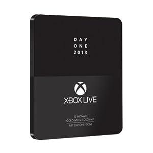 Xbox Live – Day One 2013 – 12 Monate Gold-Mitgliedschaft mit Day One-Boni im Steelcase