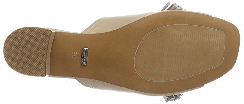 Buffalo 316-3687 Sheep Leather, Sandales  Femme Beige (Nude 01)