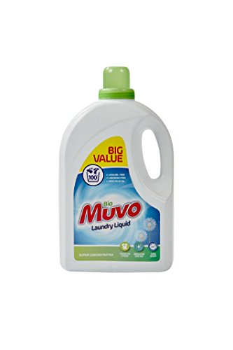 MuVo 3000 ml bio Laundry Liquid custodia x 4