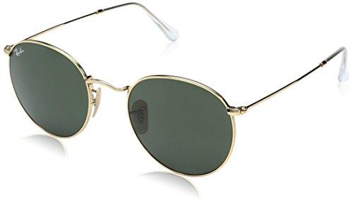Preisvergleich Produktbild Ray-Ban Herren Sonnenbrille 3447, Schwarz (Negro), 53