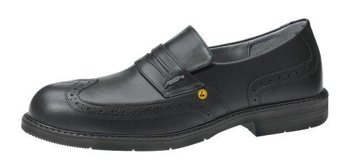 Abeba , Chaussures de sécurité pour homme Noir