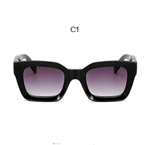 GJYANJING Sonnenbrille Neue Steigung Sonnenbrille Goggle Frauen Sonnenbrille Klar Bunte Rahmen Sonnenbrille Für Dame Shades Uv400 Sunglass
