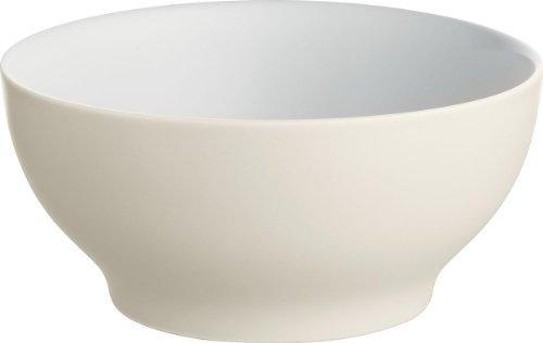 Alessi DC03/54 WY Tonale Ciotola Piccola in Ceramica Stoneware, Giallo, Set da 4