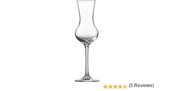 Verre Cristal sans plomb 6/unit/és Schott Zwiesel 106225/Classico 155/Grappa 5.8/x 5.8/x 17,4/cm transparent