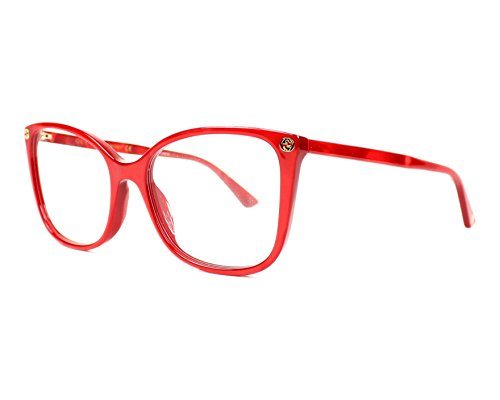 Gucci Frame - RED-RED-TRANSPARENT