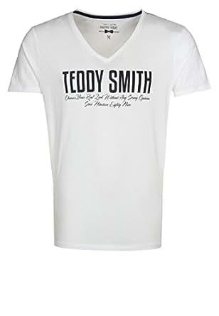 Mens TEEVY MC Printed T-shirt white | Teddy Smith (S)