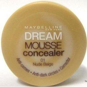 Maybelline Dream Mousse Concealer - 01 Nude Beige