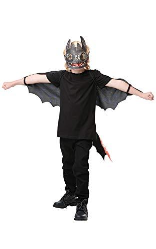 Rubies 3300091 - Zahnlose Drachen 3 Zubehörset (Dark Age Kostüm)