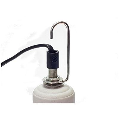 """aquapet Reptile Vivarium Ceramic Bulb Lamp Heater Holder ES (E27 1"""" 25mm) by aquapet"""