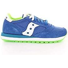 Scarpe Sneaker Uomo Saucony Originals Jazz Blu Royal Verde Blu