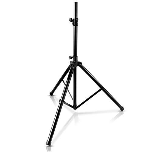 PylePro PSTND25 - Soporte para altavoz, color negro