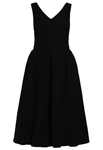 MINT&BERRY Damen Freizeitkleid Kleid - black schwarz GR. 38