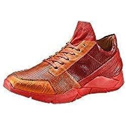 A.S.98 Sneaker Schuhe Damen Schuhe rot Leder Gr 42
