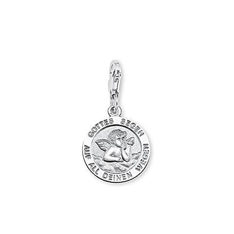 Amor Damen-Charm Anhänger Schutzengel Gottes Segen 925 Sterling Silber rhodiniert 165839