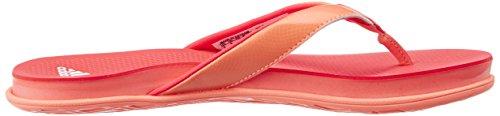 adidas Cloudfoam Ultra Y W, Tongs Femme Multicolore - Rojo / Rosa  (Brisol / Rojimp / Ftwbla)