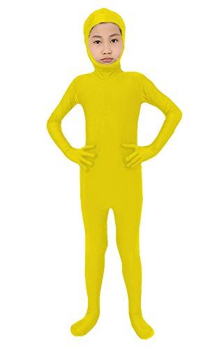 Gelbe Haut Anzug Kinder Kostüm - SK Studio Kinder Childs Fancy Dress