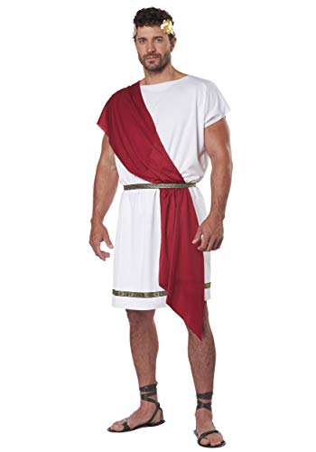 Adult Party Toga Fancy Dress Costume Large/X-Large (Red Toga Kostüm)