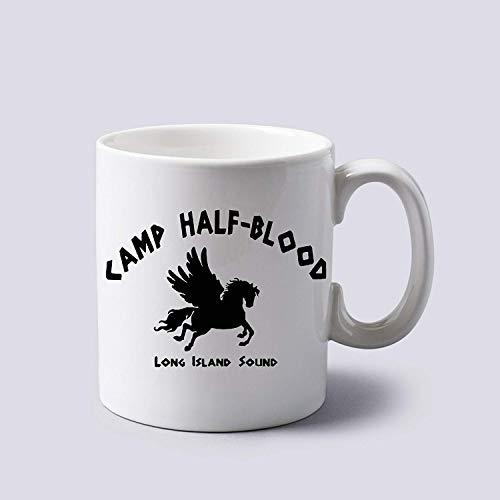 Camp Half Blood Percy Jackson Mug Cup Two Sides 11 Oz Ceramics