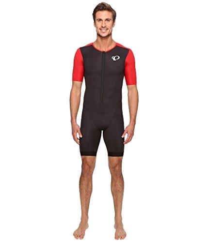PEARL IZUMI Herren Elite Pursuit Tri Speed Anzug, Herren, 13111606, Black/True Red, L