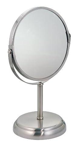 InterDesign York Metal Mirror, Split
