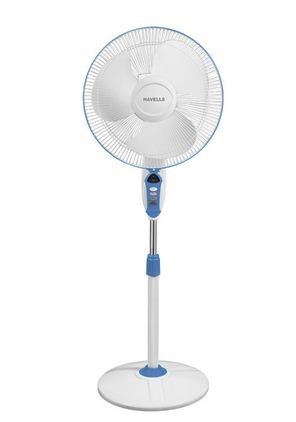 Havells Sprint LED 400mm 55-Watt Pedestal Fan (Blue)