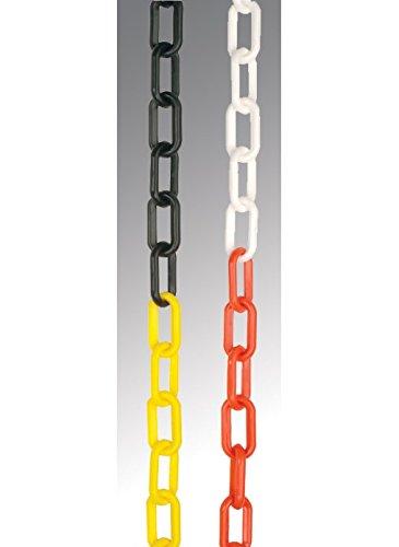 Nouvelle-Calédonie Signes 590426mm Chaîne, Polyéthylène, 10m Longueur, Noir et jaune
