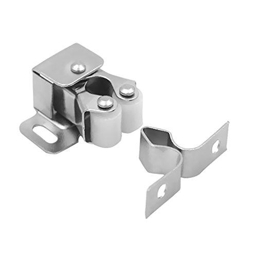 D DOLITY Schrank Double-Roller Verriegelung Latch Fang für Tür Schranktür (Fang Tür Schrank Roller Schrank)
