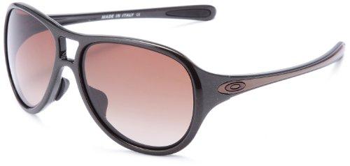 """Oakley Damen Aviator """"Twenty Six"""" Brauner Zucker Sonnenbrille Mit Farbverlauf Objektiv"""