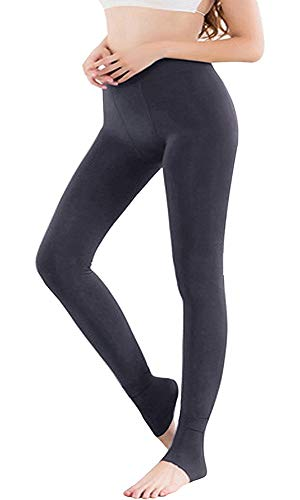 Vertvie Mujer Leggings mallas forro polar cálido