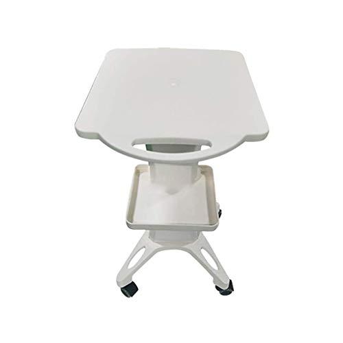 Desktop Beauty Instrument Trolley, Salonwagen Regal, Vanadium Titanium Bracket Base, Utility Cart füR SchöNheitssalons, Beauty Equipment Cart -