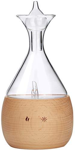Aromatherapie Vernebler aus Buchenholz und Glas. Reiner ätherischer Ölnebel, ohne zusätzliches Wasser oder Hitze; Professioneller, Reiner Duftöldiffusoren -