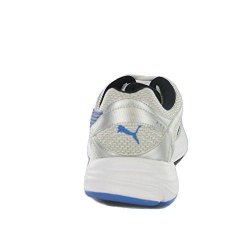 Puma - 185104 14_Blanc Unisex - adulto SILVER METALLIC/PALACE BLUE