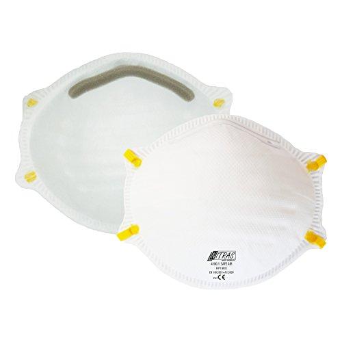 ACE 20 x Staubschutzmasken FFP1 gegen Partikel, Rauch, Aerosole und Staub EN149 - Staubmaske Atemschutzmaske Atemschutz -