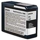 Epson Photo Ink Cartridge 80ml - Black